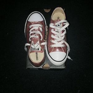 Rose Gold Converse